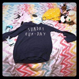 Sunday Bun-day hoodie